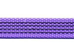 Antiglid koppel/lina 15 mm utan handtag, lavendel
