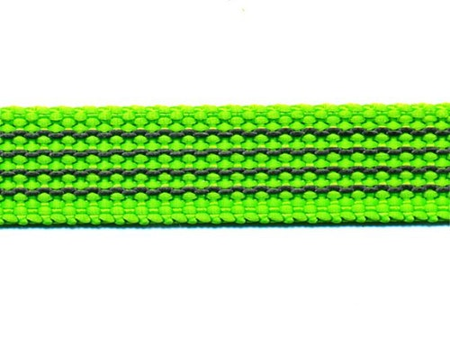 Antiglid koppel/lina 15 mm utan handtag, limegrön