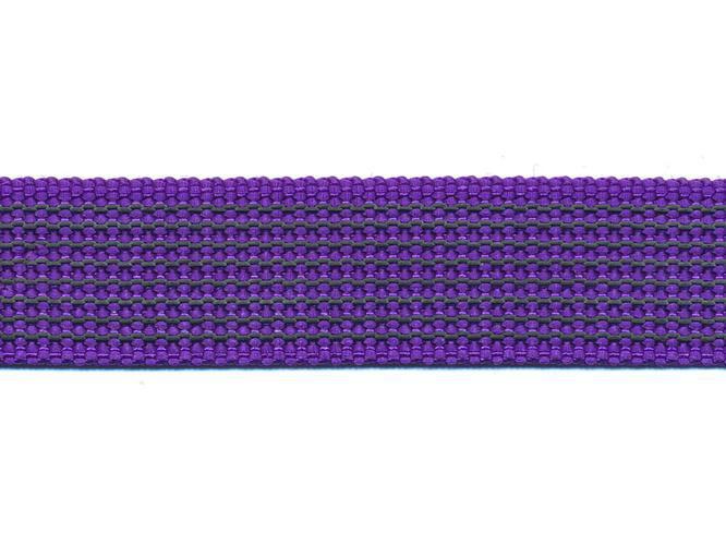 Antiglid koppel/lina 20 mm utan handtag, lila