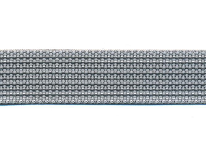 Antiglid koppel/lina 20 mm utan handtag, silver