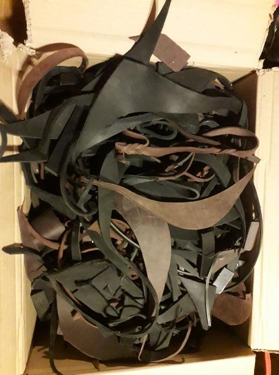 Läderspill för ex egna spårapporter, 1 kg