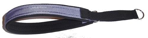 Nomehalsband, navy-blå med svart foder