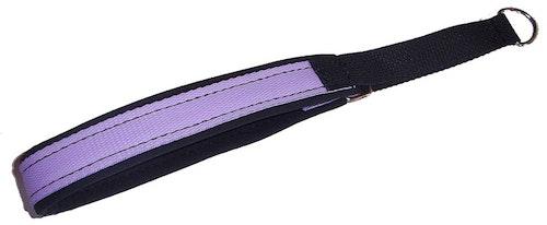 Nomehalsband, ljuslila med svart foder