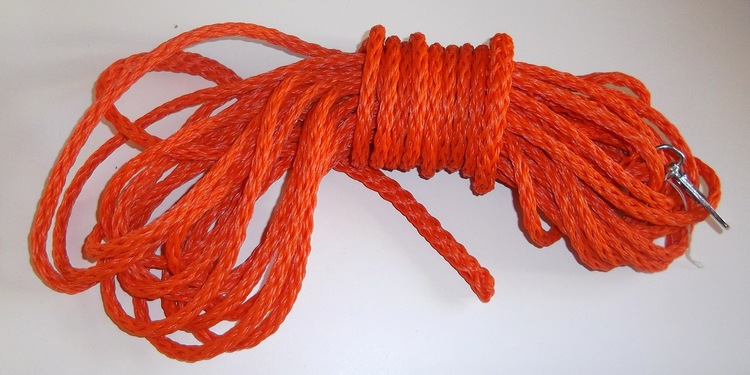 SBK spårlina 15 m, orange