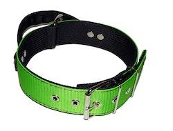 "Halsband ""Working Dog"" 5 cm bred, limegrön"