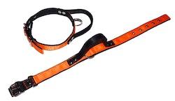 """Halsband med handtag """"orange"""""""