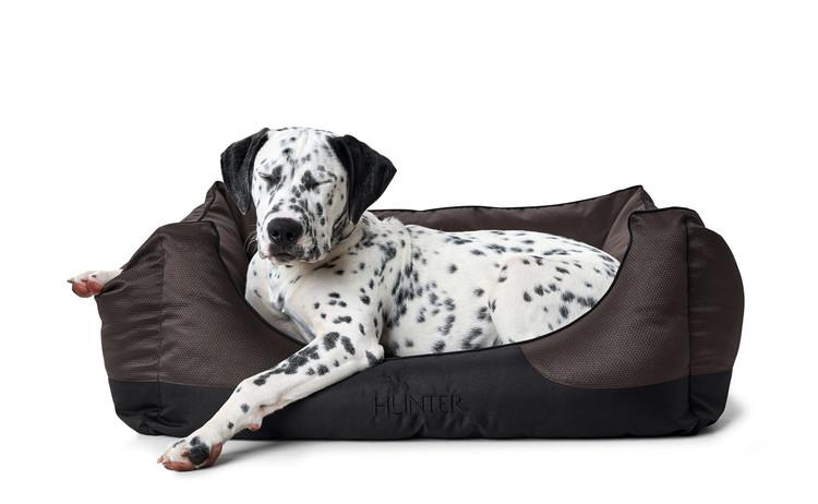 HUNTER Hundbädd Alba Mörkbrun