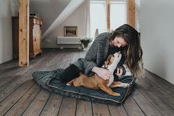 HUNTER Bergamo Hund Dyna Antracitgrå
