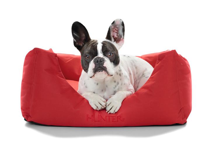 HUNTER Gent Hundbädd Antibakteriell Röd