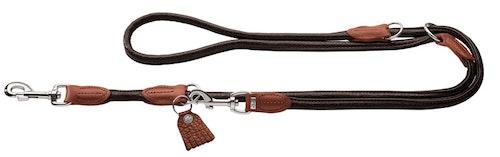 HUNTER Cody Round & Soft Multikoppel Mörkbrun 200cm