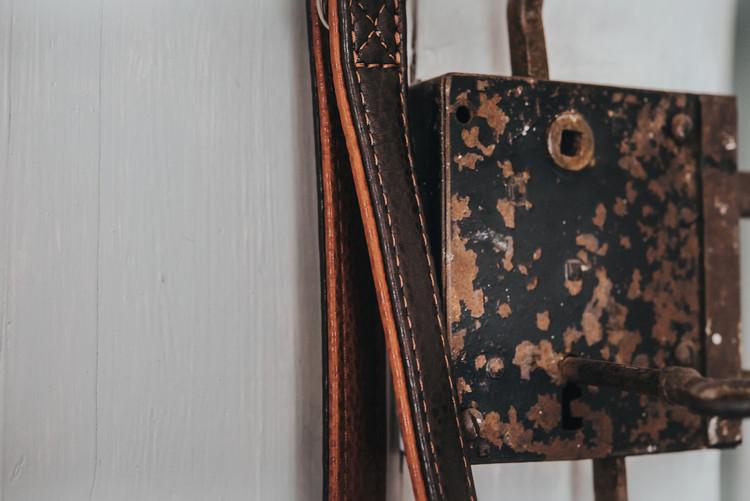 HUNTER Cody Multikoppel Mörkbrun/Cognac 200cm