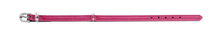 HUNTER Petit Tiny Hundhalsband Nappaläder Pink