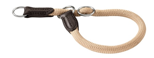 HUNTER Hundhalsband Freestyle Nylon Beige