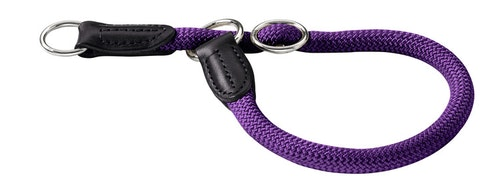 HUNTER Hundhalsband Freestyle Nylon Lila