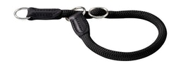 HUNTER Hundhalsband Freestyle Nylon Svart