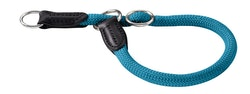 HUNTER Hundhalsband Freestyle Nylon Turkos/Petrol