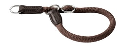 HUNTER Hundhalsband Freestyle Nylon Brun