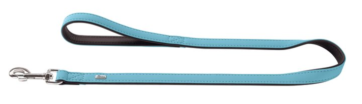 HUNTER Koppel Softie Konstläder Turkos/Svart 180cm och 110cm