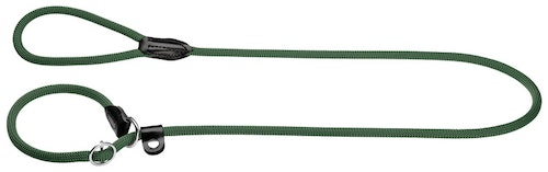 HUNTER Retrieverkoppel Freestyle Nylon Mörkgrön 170cm