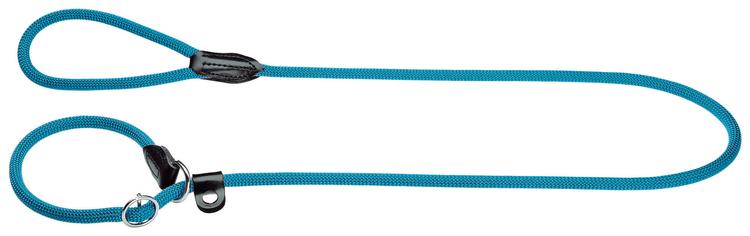 HUNTER Retrieverkoppel Freestyle Nylon Turkos/Petrol 170cm