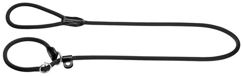 HUNTER Retrieverkoppel Freestyle Nylon Svart 170cm
