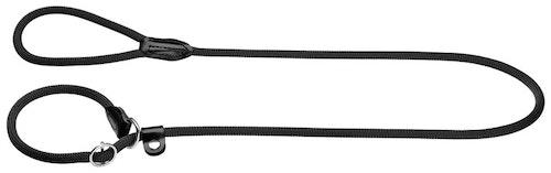 HUNTER Retrieverkoppel Freestyle Nylon Svart 170cm