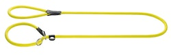 HUNTER Retrieverkoppel Freestyle Nylon Neon Gul 170cm/10mm