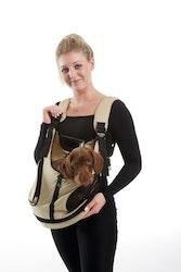 HUNTER Hund Bärväska Kangaroo Bag Beige