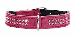 HUNTER Hundhalsband Diamond Petit Pink
