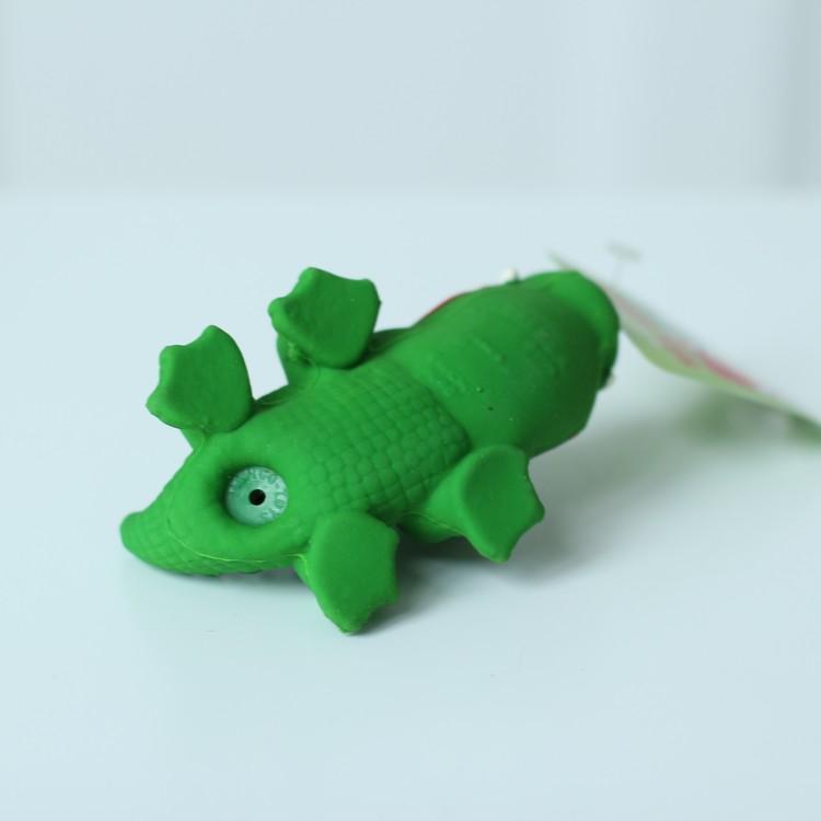 Latexleksak Krokodil Lanco - Giftfria Pipleksaker 10cm