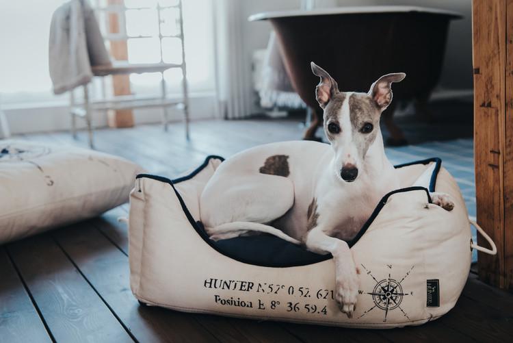 HUNTER List Hundbädd Creme