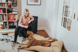 HUNTER Hundkudde Sanremo Beige