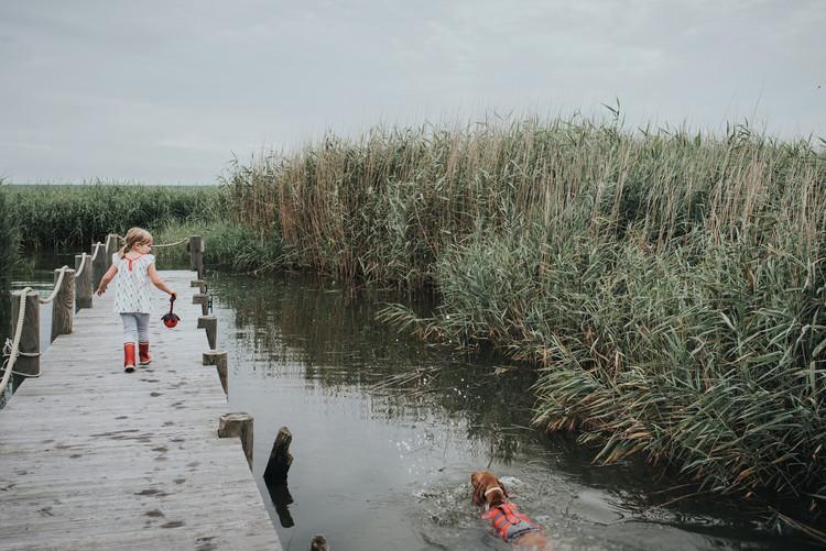 HUNTER Moss Flytväst Röd/Grå Reflex