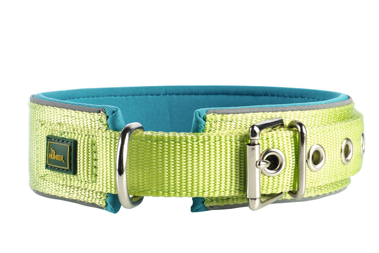 HUNTER Neopren Reflex Halsband Lime