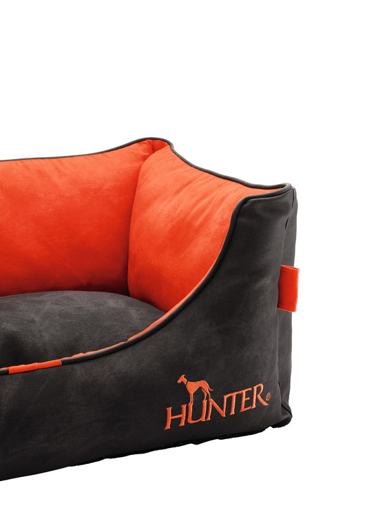 HUNTER Belfast Hundbädd Antracit/Orange