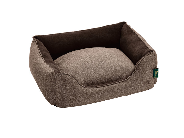 HUNTER Boston Cozy Hundbädd Brun
