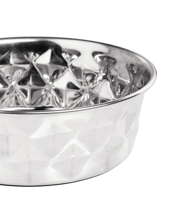 HUNTER Namy Matskål Rostfritt Stål Silver