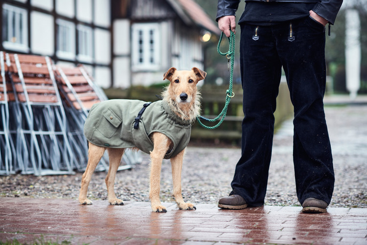 HUNTER Uppsala Trend Täcke Kaki Militär