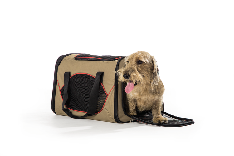 HUNTER Hund/Katt Transportväska Kansas Beige