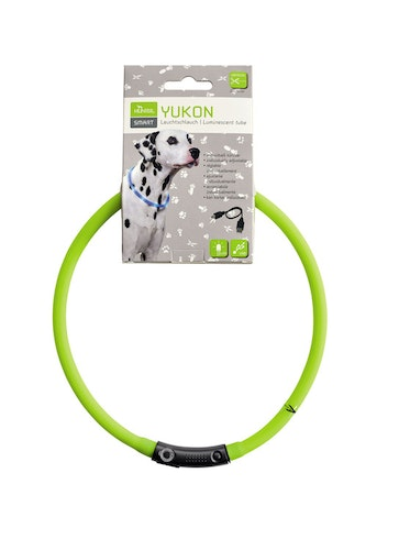 HUNTER Yukon LED-halsband lime