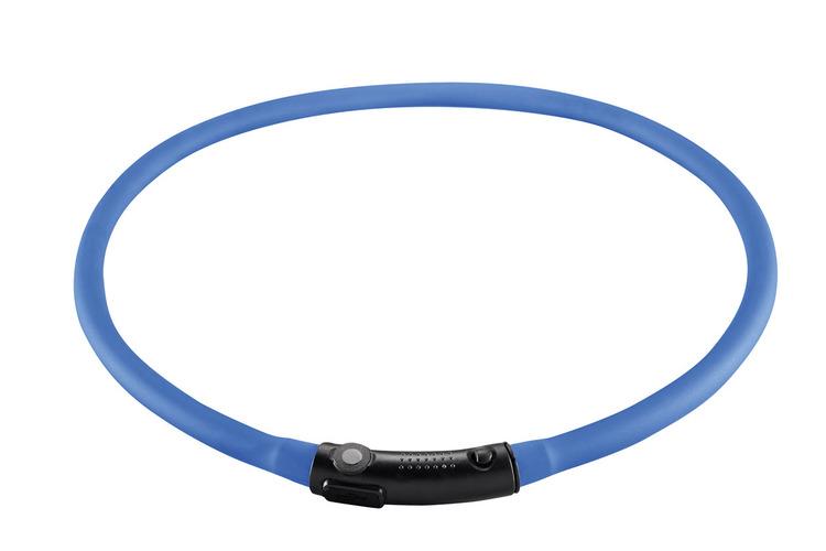 HUNTER Yukon LED-halsband blå