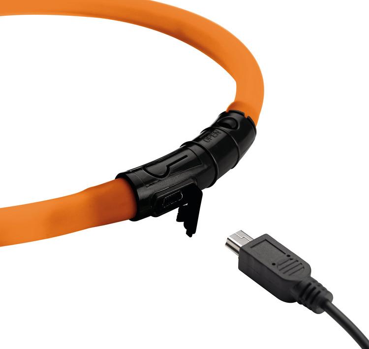 HUNTER Yukon LED-halsband orange