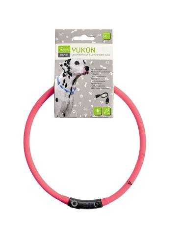 HUNTER Yukon LED-halsband rosa