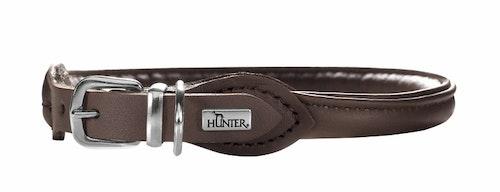 HUNTER Elk Petit Round & Soft Halsband Mocca (Best. vara)