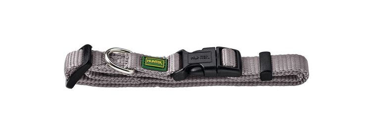 HUNTER Vario Nylon Halsband Grå