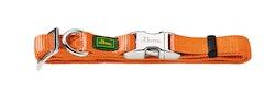 HUNTER Vario Alu-Strong Nylon Halsband Orange