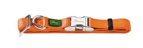 HUNTER Vario Alu-Strong Nylon Halsband Orange