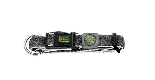 HUNTER Hilo Vario Basic/Plus Halsband Antracit