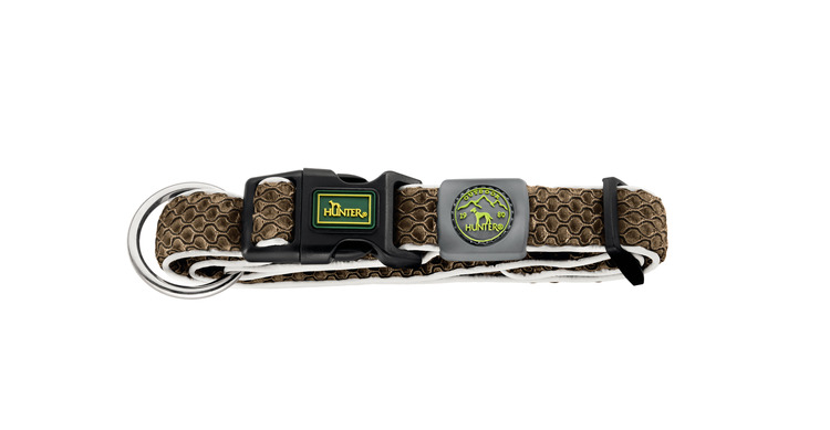 HUNTER Hilo Vario Basic/Plus Halsband Brunt