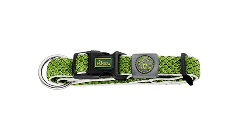 HUNTER Hilo Vario Basic/Plus Halsband Lime